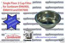 Sunbeam EM4300 EM6910 EM7000 PU8000 Single Floor 2 Cup Filter EM69108 - NEW