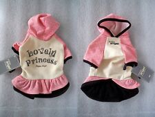 "ABITO ABBIGLIAMENTO CANE VESTITINO LOVELY PRINCESS DRESS ""PUPPY ANGEL"" TG. XS"