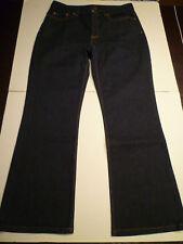 BANANA REPUBLIC Classic Dark Denim Jeans, Stretch, 12R