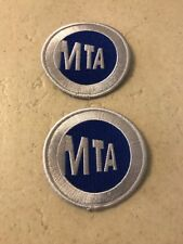 2 Official New York City MTA Patches NYCTA Collecting Purposes Only