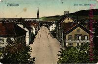 AK Spaichingen, Krs.Tuttlingen, Blick vom Bahnhof, 1912, 24/07