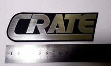 CRATE Logo Plastic silver Color 134 mm - 5 1/4'