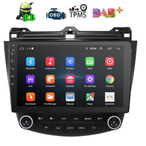 10.1 inch HONDA ACCORD/EURO 03-07 Car GPS Stereo Player Head Unit Android 9.0 BT