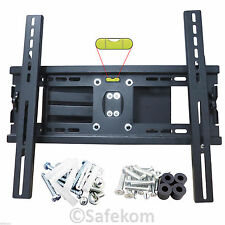 TV Wall Mount 80kg STAFFA GIREVOLE Tilt 32 40 42 46 48 50 52 55 60 62 Pollici