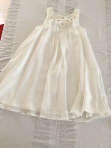 White Origami dress size 8
