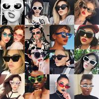 Fashion Shades Eyewear Women Unisex Retro Vintage Style Sunglasses Eye Glasses