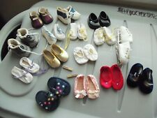 """Pre-owned American Girl RETIRED? Shoe Lot  For 18"""" dolls"""