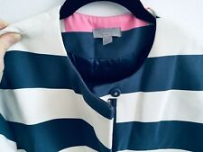 COS Fabulous Striped Spring Coat! Hard to Find-Size 6