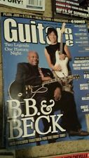 Guitar one MAGAZINE OCTOBER 2003 SMILE EMPTY SOUL THE WHITE STRIPES  tab BOOK