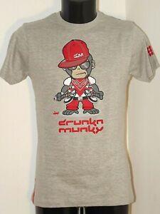 Discount 50% DRUNKNMUNKY T-Shirt Bad Munky T-Shirt Jersey Cotton short Sleeve