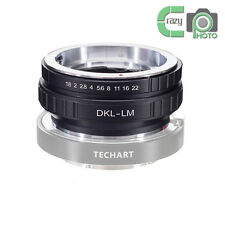 DKL-LM Voigtlander Retina Deckel Lens to Leica L/M 240 M9 M8 for TECHART LM-EA7
