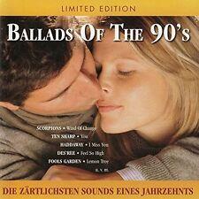 Ballads of the 90's scorpions ten sharp Daryl Hall the une tête de réf Joshua Kadison OVP