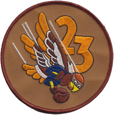 USAF 23d Fighter Squadron Embroidered Patch ** LAST FEW **