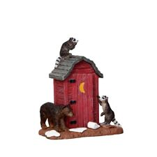 New Lemax Figurines Outhouse Marauders # 24492 Polyresin