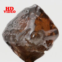 Natural Loose Diamond Crystal Rough I1 Clarity Brown Color 7.00 MM 2.51 Ct L6305
