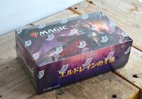 MTG Magic the Gathering Throne of ELDRAINE booster box Japanese