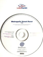 Metropolis Street Racer Promo Mint Condition CD Disc Dreamcast Retro Videogame