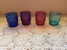 Tupperware Preludio Acrylic Jewel Tone Watercolor 10oz Tumblers