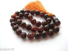 Beautiful Baltic Amber 33 islam prayer beads Misbaha Tasbih 32,72 g