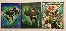 Green Lantern 2-pocket folders Lot Of 3 Super Hero folders - school supply