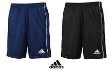 Para Hombre Adidas Climalite Deporte Futbol Running Gimnasio Entrenamiento Pantalones Cortos Bolsillos abiertos