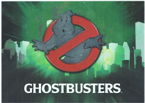 Ghostbusters 2016 Cryptozoic Foil Parallel Base Cards - Many to Chose From