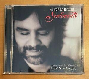Andrea Bocelli - Sentimento  - CD