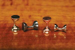 Hareline Dubbin - Flat End Tungsten Hour Glass Eyes