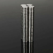 100pcs N48 7mm x 2mm Super Strong Disc Magnets Rare Earth Neodymium Magnets