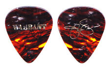 Warrant Jani Lane Signature Concert-Used Chewed Brown Guitar Pick - 1989 Tour