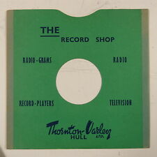 "78 rpm 10"" card gramophone record sleeve/ cover THORNTON-VARLEY , HULL"