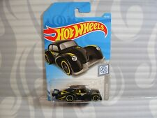 2019 HOT WHEELS ''volkswagen'' #46 = VOLKSWAGEN KAFER RACER = BLACK , int