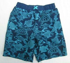 ❤ BABY BUNS swim board shorts 4 4T turtle fish sealife bathing suit FREESHIP