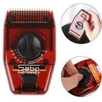 Pro Barber Hair Razor Comb Hair Cutting Thinning Comb Device Trimmer+Blade Tool