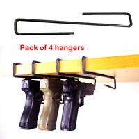 4-pack Ultimate Gun Safe Pistol Hanger Storage Hook Rack Holder Organizer