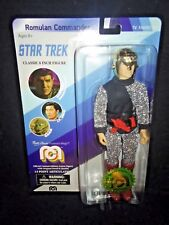 "ROMULAN COMMANDER 8"" MEGO Classic Star Trek TV Action Figure #5741 Mark Leonard"