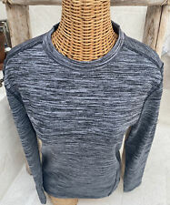 RBX Mike Ferrell Compression Long Sleeved Top Poly/Spandex Grey Medium Unisex