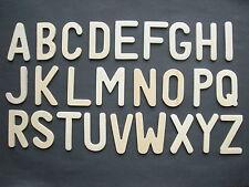 Wooden upper case alphabet large letters templates stencils one full alphabet