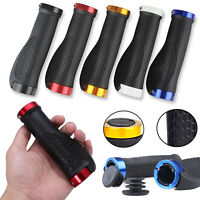 Soft Cycling Handlebar Grips Bike Handle Bar Mountain Bicycle Scooter BMX MTB UK