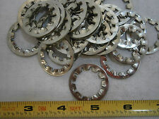 Lock Washers 3/4 Internal Tooth Phosphorus Bronze Nickel Plated Lot of 10 #3345