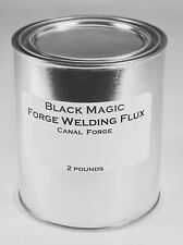 Blacksmith Forge Weld Flux Black Magic No Borax EZ Cleanup Hammer Anvil Coal Gas