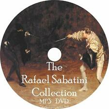 Rafael Sabatini Audiobook Collection English Unabridged on 1 MP3 DVD Free Ship