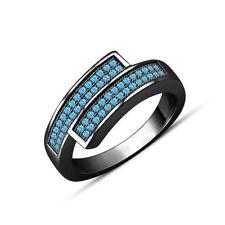 Aquamarine Wedding Fine Rings