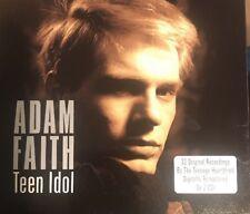 ADAM FAITH Teen Idol DOUBLE CD European One Day Music 2011 33 Track Double CD