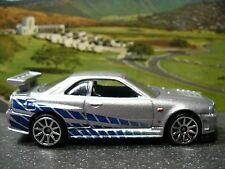 Brian O'Conner's Nissan Skyline R34 GT-R / Paul Walker 2 Fast 2 Furious Polished