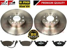 FOR VW GOLF MK5 1.4 1.6 2005-2009 FRONT BRAKE PADS VENTED DISCS 280mm
