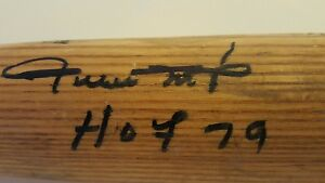 WILLIE MAYS' PSA-DNA VERIFIED, PERSONALLY USED SPRING TRAINING PRO BAT. REAL!