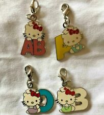 Hello Kitty Limited Pin badge 4blood types set Japanese Red Cross Society Sanrio
