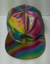 Back to the Future Cap Marty McFly Hat Baseball Snapback Rainbow Cosplay Hat