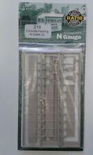 Ratio 219  N Gauge Concrete fencing Gates, BRAND NEW!